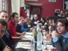 Comida con los grupos recién llegados de Burdeos
