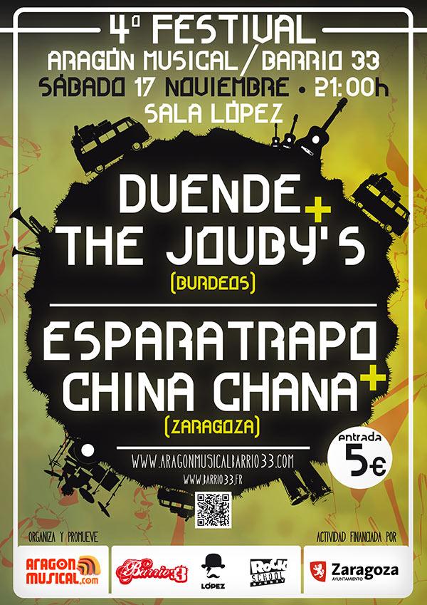 IV Festival Aragón Musical Barrio 33